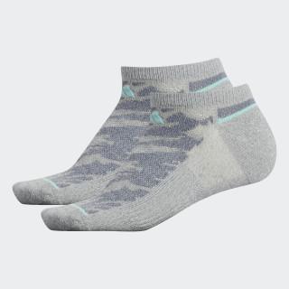Superlite Prime Mesh 2 No-Show Socks 2 Pairs Medium Grey CJ0613