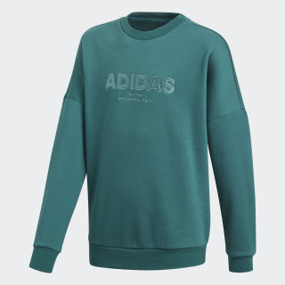 All Caps Sweatshirt Noble Green / Pantone / Black DJ1768