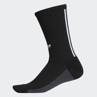 3-Stripes Statement Crew Socks Black CJ3871