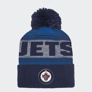 Jets Cuffed Pom Knit Beanie Nhlwje CY2986