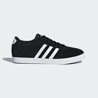 Courtset Schuh Core Black / Ftwr White / Matte Silver B44619
