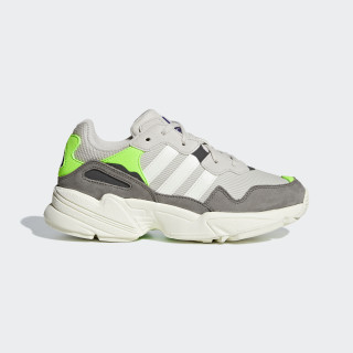 Yung-96 Shoes Clear Brown / Off White / Solar Green G27414