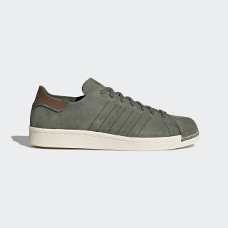 Superstar 80s Decon Shoes Base Green/Base Green/Noble Red CQ2211