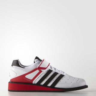Power Perfect 2 Gewichtheberschuh Footwear White/Core Black/Radiant Red G17563