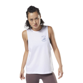 Badasses Muscle Tank White DH3748