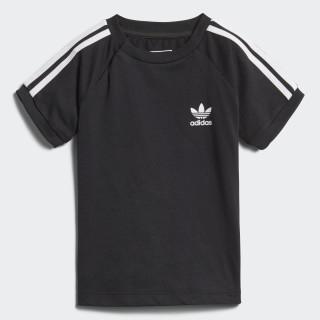 California T-shirt Black / White DH2462