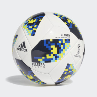 Balón Glider Eliminatorias Copa Mundial de la FIFA WHITE/NIGHT INDIGO CW4688