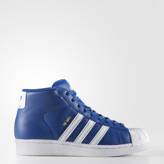 Pro Model Shoes Collegiate Royal / Cloud White / Gold Metallic BY3731