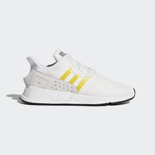 EQT Cushion ADV Schuh Ftwr White/Eqt Yellow/Silver Metallic CQ2375