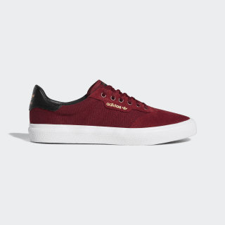 Zapatillas 3MC Vulcanizadas Collegiate Burgundy / Core Black / Gold Met. DB3092