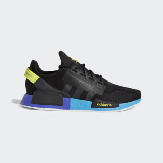 NMD_R1 V2 Shoes Core Black / Carbon / Shock Yellow FX4147