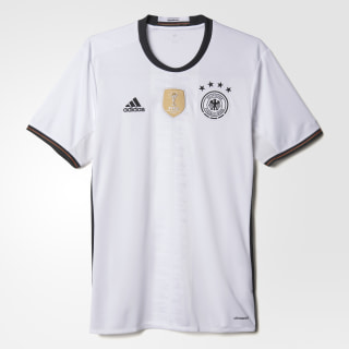 Jersey Alemania Local UEFA EURO 2016 Réplica White / Black AI5014