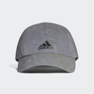 Cappellino Run Reflective Grey / Reflective Silver / Black CW0754