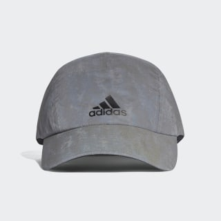 Gorra Run Reflective Grey / Reflective Silver / Black CW0754