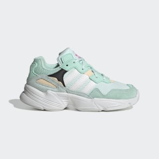 Кроссовки Yung-96 ice mint / cloud white / clear orange F35277