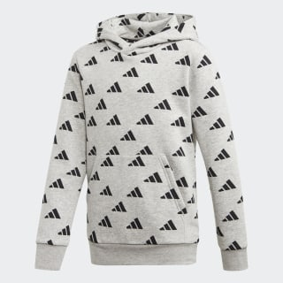 ID Hoodie Medium Grey Heather / Black ED6402