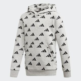 Sweat-shirt à capuche ID Medium Grey Heather / Black ED6402