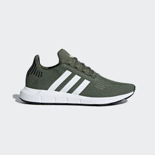 Swift Run Shoes Base Green / Cloud White / Core Black AQ0866
