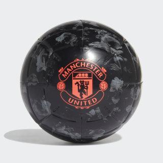 Balón Mufc Cpt black/GREY THREE F17/app solar red DY2527