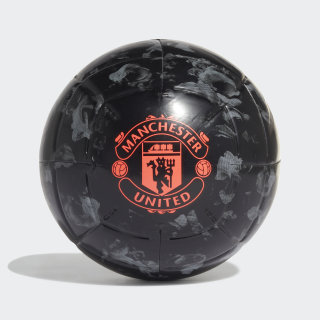 Bola Capitano Manchester United Black / Grey Three / App Solar Red DY2527