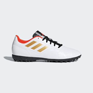 Guayos Césped Conquisto II FTWR WHITE/TACTILE GOLD MET. F17/SOLAR RED DB0535