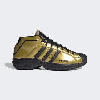 Pro Model 2G Shelltoe 50 Schoenen Gold Metallic / Core Black / Gold Metallic FV8922