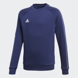 Core 18 Sweatshirt Dark Blue / White CV3968
