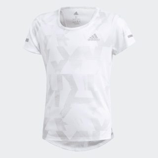 Polera Run White / Grey One / Reflective Silver DV2794