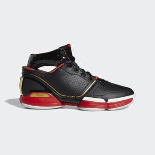 Adizero Rose 1 Forbidden City Shoes Core Black / Gold Metallic / Scarlet FW3137
