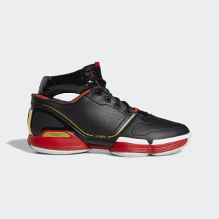 Adizero Rose 1  Shoes Core Black / Gold Metallic / Scarlet FW3137