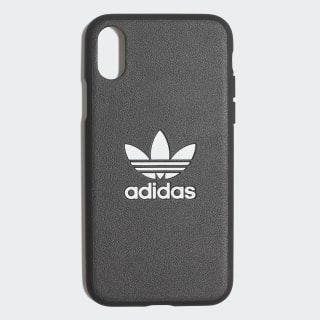Basic Logo Case iPhone X Black / White CK6163