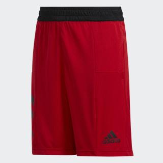 Sport 3-Stripes Short Scarlet FN5668