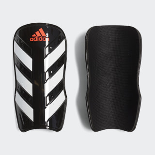 Everlesto Shin Guards Black / White / Solar Red CW5562
