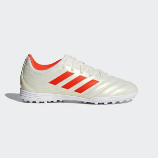 Copa 19.3 Turf Boots Beige / Solar Red / Cloud White D98084