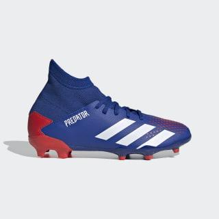 Футбольные бутсы Predator 20.3 FG Royal Blue / Cloud White / Active Red EG0953