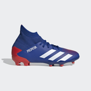Predator 20.3 Firm Ground Boots Team Royal Blue / Cloud White / Active Red EG0953