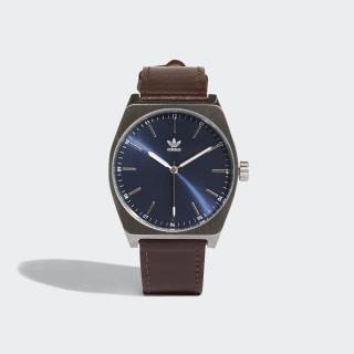 PROCESS_L1 Horloge Silver Met. / Collegiate Navy / Dark Brown CJ6345