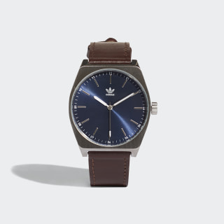PROCESS_L1 Watch Silver Met. / Collegiate Navy / Dark Brown CJ6345