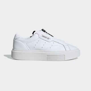 Zapatilla adidas Sleek Super Zip Cloud White / Cloud White / Core Black EE4506