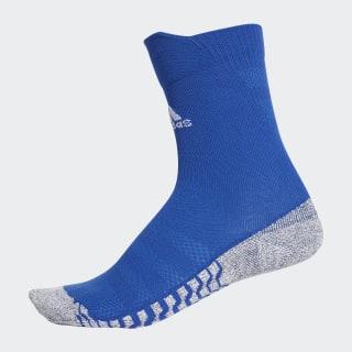 Alphaskin Traxion Ultralight Crew Socks bold blue / white CV7679