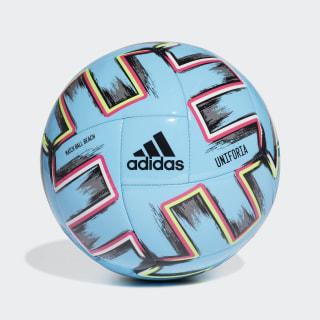 Balón de fútbol playa Uniforia Pro Bright Cyan / Black / Signal Green / Shock Pink FH7347