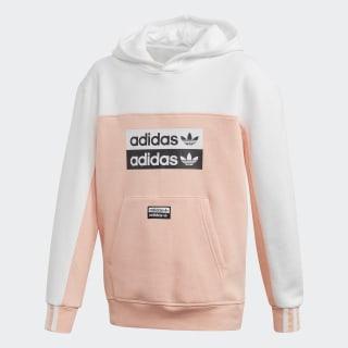 Sudadera con capucha Glow Pink / White FM6628