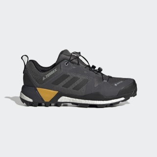 Terrex Skychaser GTX Shoes Grey Five / Core Black / Active Gold G26549