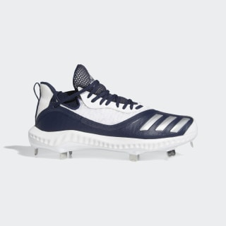 Icon V Bounce Iced Out Cleats Collegiate Navy / Silver Metallic / Cloud White EE4128