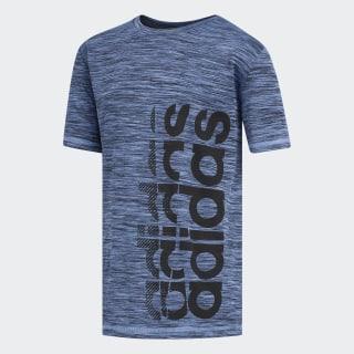 Echo Vertical Linear Tee Medium Blue CM5075