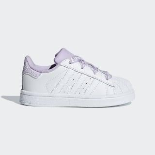 Superstar Schuh Ftwr White / Ftwr White / Purple Glow CM8601