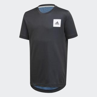 Playera AEROREADY Black / Lucky Blue / White FK9496