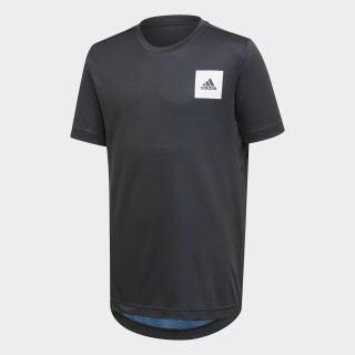 T-shirt AEROREADY Black / Lucky Blue / White FK9496