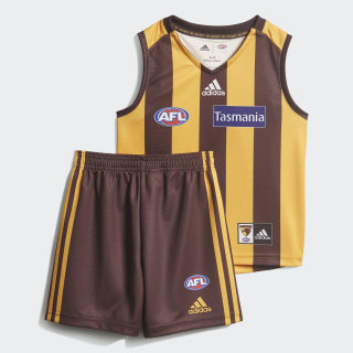 Hawthorn FC Mini Kit Collegiate Gold / Earth DP6275