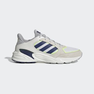 Tênis 90s Valasion Running White / Dark Blue / Hi-Res Yellow EE9895